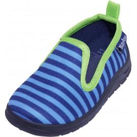 Pantoffel Gestreept - blauw/groen