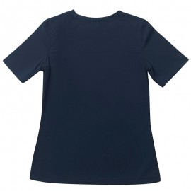 UV shirt Dames Blue - korte mouw; Dames (13+ jaar), UV shirts, UV shirt Dames, Dames UV Shirts Petit Crabe