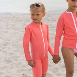UV Pakje Flamingo - lange mouwen - korte pijpjes