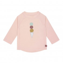 UV Shirt Ice Cream - roze - lange mouw