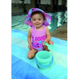 UV Tankini & zwemluier Roze Vlinder