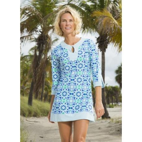 UV shirt blue Seaglass