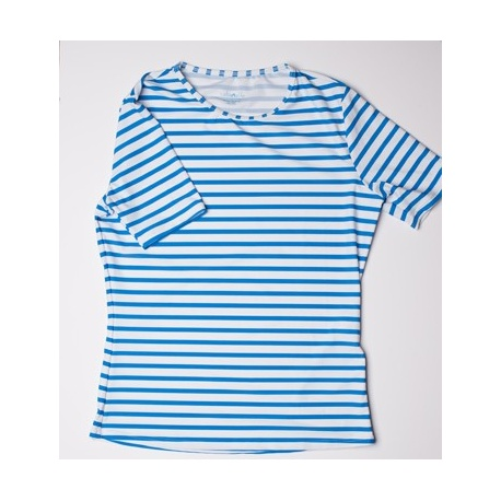 UV shirt blue stripe