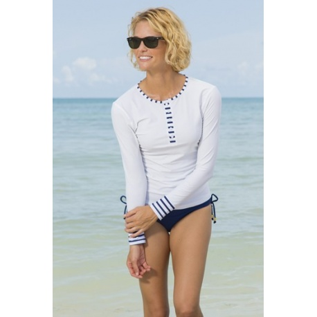 UV shirt henley