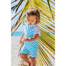 UV badpak wolkjes | Badpakken baby's