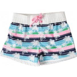 UV shirt & zwemshort meisjes Palm Tree