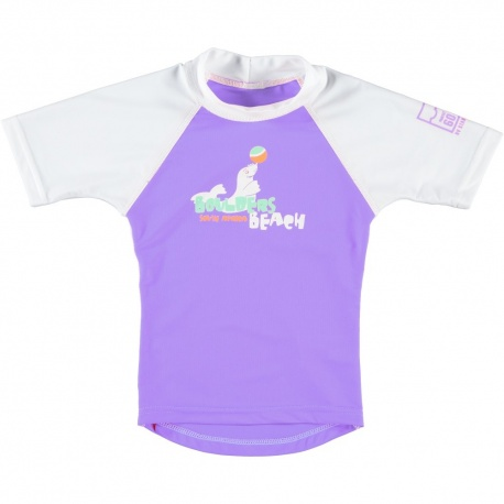 Uv shirt bolders beach lilac