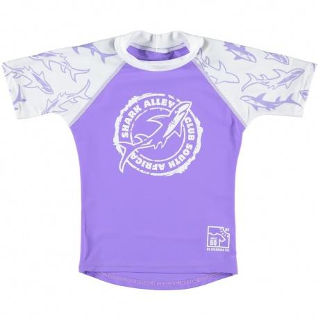 Uv shirt Shark Lilac