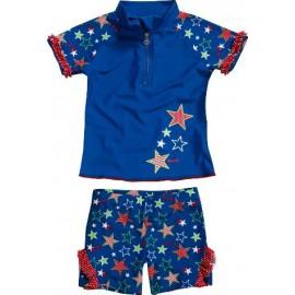 UV shirt en zwemshort Stars