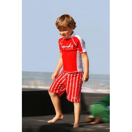 Jongens zwembroek Red Stripe
