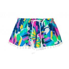 Zwemshort meisje Tropical