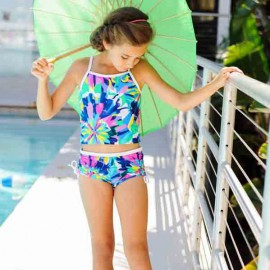Tankini Tropical | Tankini Meisjes Tropical