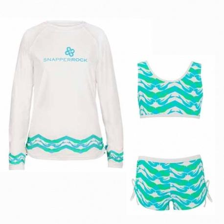 Bikini + UV Shirt Mermaid