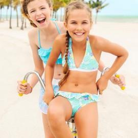Meisjes Bikini Sea Turtle