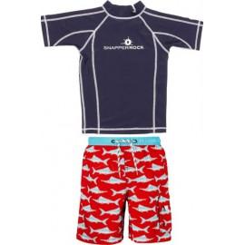 UV shirt Navy_jongens_zwembroek_swordfish
