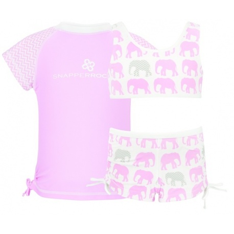 Bikini + UV Shirt Elephant