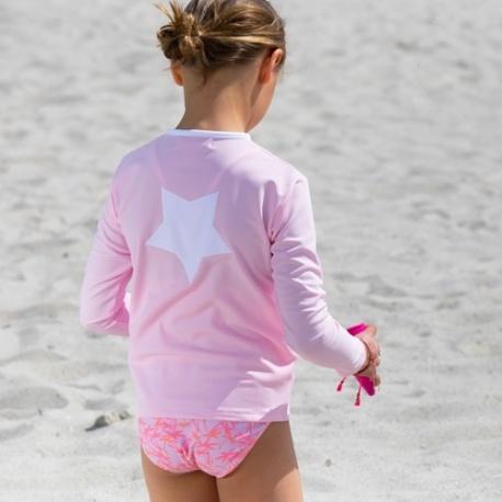 UV shirt lange mouw - rits - Ballerina