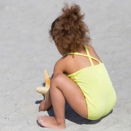 Meisjes badbak Canary