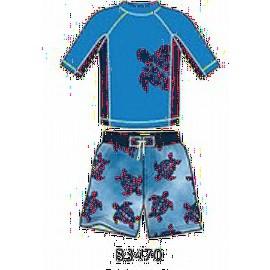 UV shirt & boardshort Tortoise