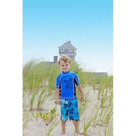UV shirt & boardshort Blue Tortoise