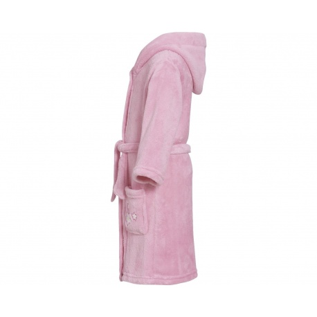 fleece badjas bloem | kinder badjas