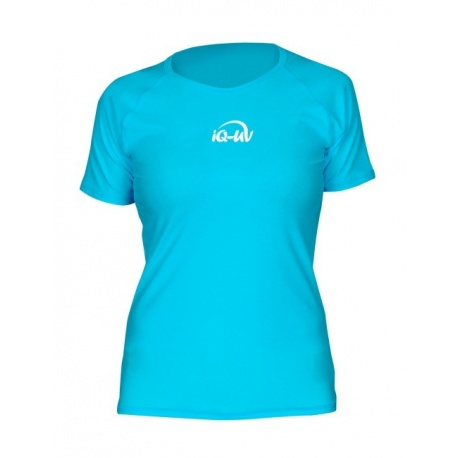 UV Shirt Loose Fit Turquoise