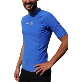UV Shirt Blue ronde hals