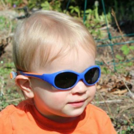 Kinder Zonnebril Navy Orange