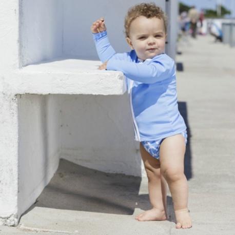UV shirt long sleeves- SKY