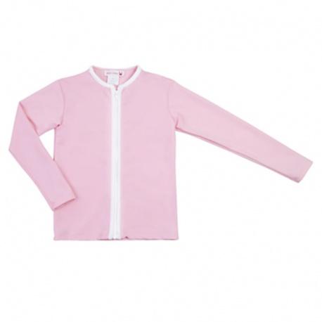 UV shirt lange mouw - rits - Soft Roses