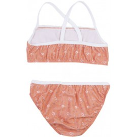 Meisjes Bikini Floral Peach