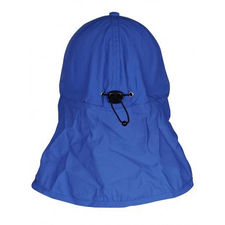 UV pet Blauw met nekbescherming