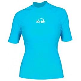 UV Shirt dames Slim Fit Turquoise