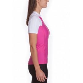 UV Shirt dames Slim Fit White Pink