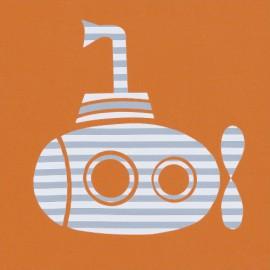 UV shirt Submarine_orange
