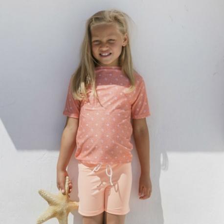 UV shirt - Floral Peach