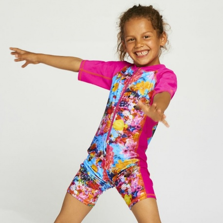 UV Pakje Onderwaterwereld | uv zwempak meisjes Color Kids