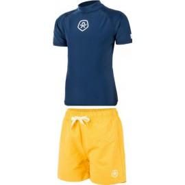 UV shirt + jongens zwembroek geel ColorKIds