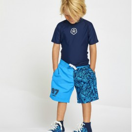 UV zwemset: UV Shirt Estate Blue + Zwembroek Tippi  ColorKids