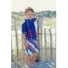 UV shirt & boardshort Blue Octopus