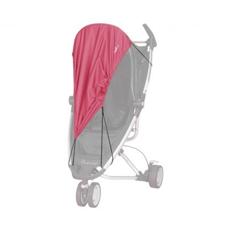 UV bescherming voor kinderwagens - Rood
