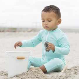 UV Pakje Baby | UV Zwempak Mint lange mouwen & Pijpjes