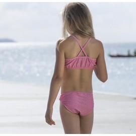 Meisjes Bikini Pink Flowers