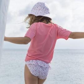 Meisjes zwembroek | Bikini broekje Flamingo