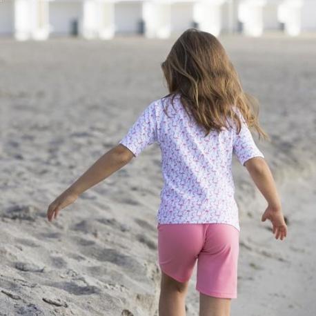 UV Shirt Flamingo