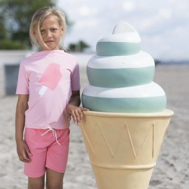 UV Shirt Soft Roses Ice Cream