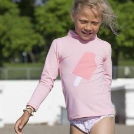 UV Shirt Soft Roze lange mouw