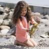 UV Shirt Coral lange mouw met rits | Zwemshirt meisjes Coral