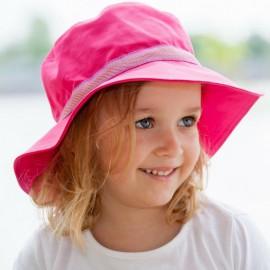 Zonnenhoed meisje Fuchsia | Zonnehoed dames