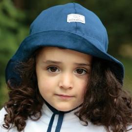 Zonnehoedje Blauw | Baby zonnehoedje